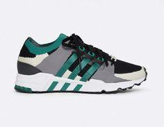 Adidas Eqt Running Support Pk Noir Vert
