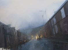 Pricetown, oil on canvas by Nathan Ford