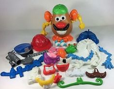 Mr Potato Head Lot Playskool And Hasbro 40 Pieces