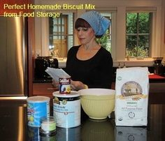 The Perfect Homemade Biscuit Mix from Food Storage