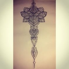 Backpiece ideas for Pam. #tattoo #ink #tattoodesign #design #sketch #drawing #lotus #mehndi #mandala #pattern #penandink #handdrawn #domholmestattoo #iblackwork #blackndark #blackworkers