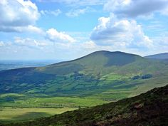 Hillwalking in the Galtee Mountains