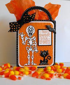 Stacey's Creative Corner: Plantin Schoolbook and Paper Doll dress up Cricut cartridges Halloween 6, Halloween Treat Bags, Halloween Goodies, Halloween Cards, Holidays Halloween, Cricut Cuttlebug, Cricut Cards, Cricut Cartridges, Fall Cards