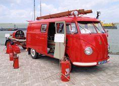 VW T1 brandweer by Jan Barnier Hilversum, via Flickr