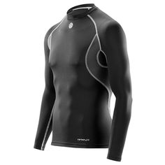 2bd2880cd5a8d SKINS Carbonyte Thermal Long Sleeve Baselayer Top Compression Base Layers  Thermal Base Layer, Ski Fashion