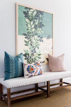 Blanco Interiores: ...E se em vez da consola... #homeinteriordesignminimalist