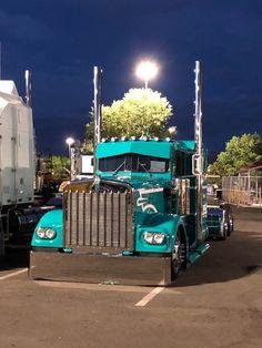 Show Trucks, Big Rig Trucks, Dump Trucks, Old Trucks, Custom Big Rigs, Custom Trucks, Truck Art, Trucks And Girls, Peterbilt Trucks