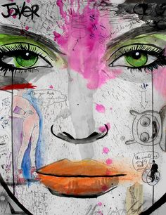 """Saatchi Online Artist: Loui Jover; Pen and Ink, 2013, Drawing """"wake me when its over"""""""