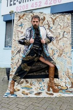 Andreas Kronthaler for Vivienne Westwood AW16/17 Campaign | Vivienne Westwood
