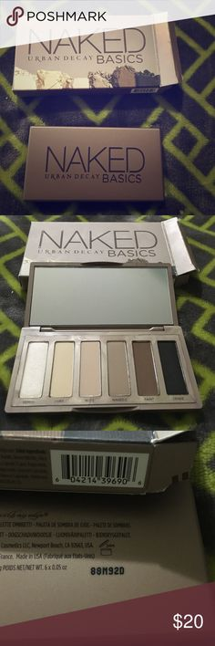 Urban Decay Naked Basics Palette Brand new, never used. Included serial numbers so you know it is authentic. Urban Decay Makeup Eyeshadow