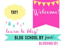 Blog School Lesson One!