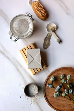 DIY: clay eucalyptus soap