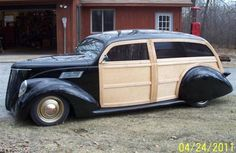 Winning Ride - larryhosaluks Lincoln Zephyr 1937