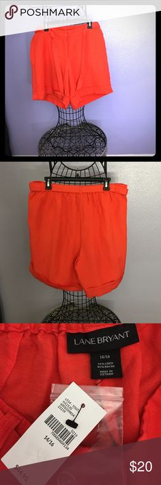 Short. Size 14/16 Red short for women. Size 14/16 Lane Bryant Shorts