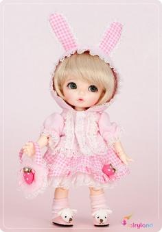 Strawberry Bunny Hoodie