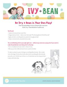 Ivy and Bean Break the Fossil Record Readers Theater