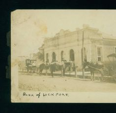 Bank of Lockport, Lockport, La :: 1907-1908? LSU Libraries Postcard Collections