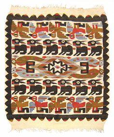 "Kilim & Flatweave 8' 8"" x 5' 3"" Vintage Turkish Kilim at Persian Gallery New York - Antique Decorative Carpets & Period Tapestries"
