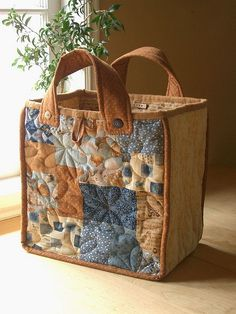 Country Patch bag - back 1 by PatchworkPottery, via Flickr