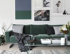 I& very excited to be introducing you to some wonderful new products by BoConcept today. The first is Napoli, a corduroy velvet fabric dev. Scandi Living Room, Living Room Sofa Design, Living Room Seating, Living Room Designs, Living Room Decor, Boconcept Sofa, Velvet Furniture, Green Sofa, Comfortable Sofa