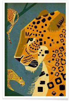 Leopard - Dieter Braun - Premium poster