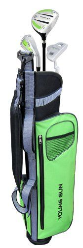 Young Gun EAGLE GREEN Junior golf club set & bag for kids Ages 12-14 RH at http://suliaszone.com/young-gun-eagle-green-junior-golf-club-set-bag-for-kids-ages-12-14-rh/