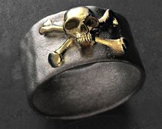 skull wedding ring, skull engagement ring, pirate skull ring, mens skull ring, biker skull ring, goth ring, goth engagement, father's day