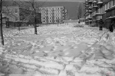 Chrobrego 6, Białystok - 1983 rok, stare zdjęcia