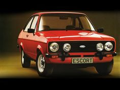 Cool looks, sweet handling, rally-bred image - My old classic car collection Ford Rs, Car Ford, Retro Cars, Vintage Cars, Vintage Style, Bmw 2002, Old Classic Cars, Old Fords, Classic Motors