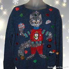 Teenage Mutant Ninja Turtles Candy Cane Ugly Christmas Sweater Crew Neck Fleece