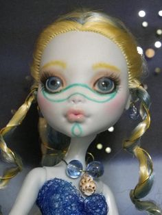Sea Sprites 'Anemone and Whelk' Monster by EnchantedIslandDolls