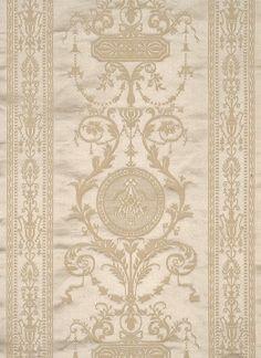 Scalamandre Hepplewhite, ivory
