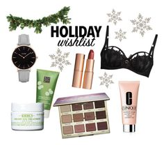 Holiday wishlist by twoshadesofmint on Polyvore featuring Schönheit, tarte, Charlotte Tilbury, Clinique, Kiehl's, Rituals and CLUSE