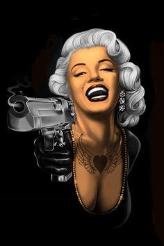 Marilyn Monroe Gangster mukaan pave65