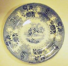 Plate, ca. 1835-40 | The Museum of Fine Arts, Houston