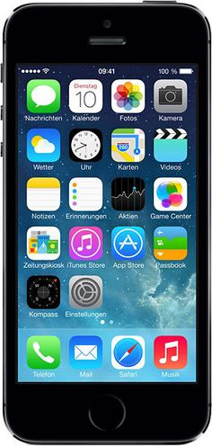 Apple iPhone 5s - 16GB Smartphone, LTE (4G), Touchscreen, Apple iOS, 8,0 Megapixel