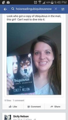 Reader smiles!  #WhoIsReadingUbiquitousNow #Hallowedmoon.webs.com #thefamilythatreadstogether #SoYouWannaBuyABook