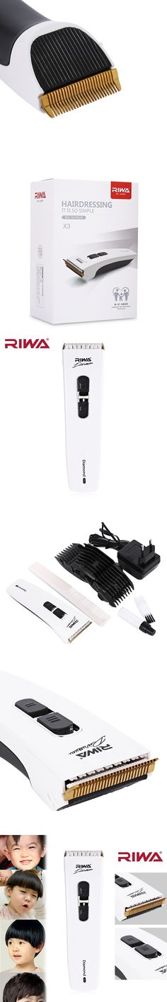 RIWA New Professional Noiseless Electric Hair Clipper Shaver Beard Trimmer Men Styling Tools Shaving Machine Cutting Haircut