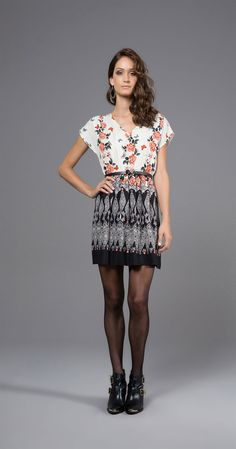 Vestido Jardim de Borboletas | Lookbook | Antix Store
