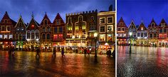 The magical Grote Markt of Bruges
