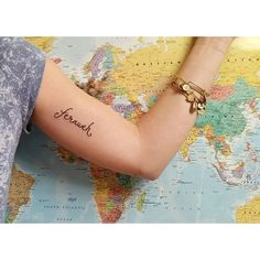 Pin for Later: 35 Unique Travel Tattoos to Fuel Your Eternal Wanderlust Fernweh