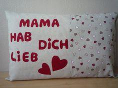 """Kissenbezug  """"Herzchen"""" von Lisas Geschenkfundgrube auf DaWanda.com"""