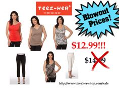 Crazy Blowout Sale going on NOW!  http://www.teezher-shop.com/sale