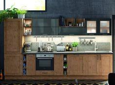 Réfrigérateur Intégré Avec Les Meubles De La Cuisine