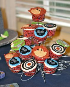 Brave Party Cupcakes