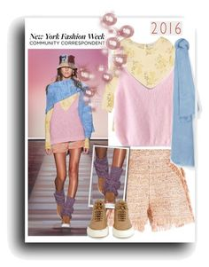 """""""New York Fashion Week 2016"""" by lotoss ❤ liked on Polyvore featuring The Great, M Missoni, MANGO and Common Projects"""