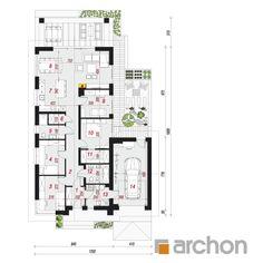 Dom pod pomarańczą 2 (G) House Plans, Floor Plans, How To Plan, Home Plans, Floor Layout, House Floor Plans, Floor Plan Drawing