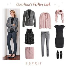 Our #Esprit muse Christina loves the perfect mix of #chic, #casual and #feminine #styles: glittering sequin #dresses and #trendy embroideries.