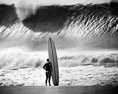 Iconic photo of Greg Noll (Da Bull) at Pipeline, #Hawaii. Photo by John Severson