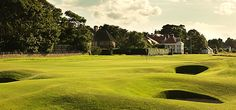 Muirfield 9th hole. This world ranked top-10 course is usually regarded as the most complete test of a links golfer